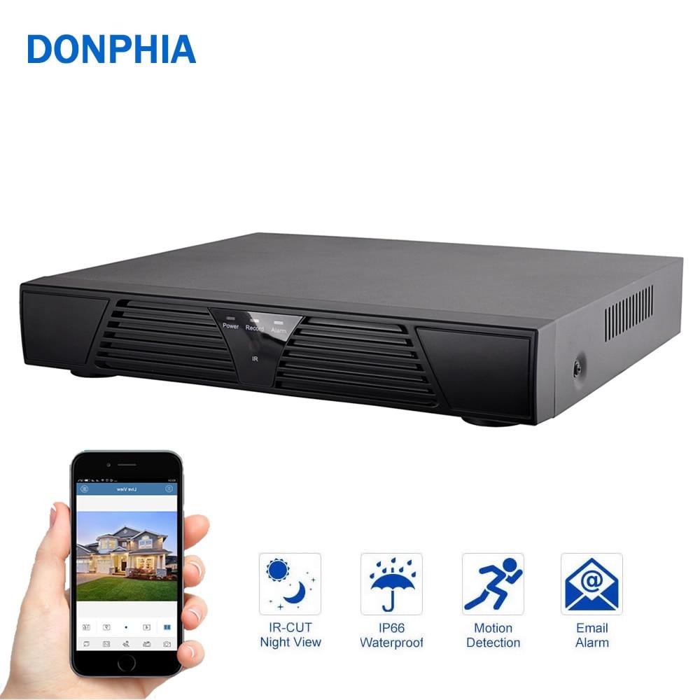4CH / 8CH NVR 1080P Onvif Network Video Recorder for IP Camera Cloud P2P dahua mini smart nvr 1u 1hdd 4ch 8ch 1080p onvif nvr ip camera system network video recorder nvr2104 2108 p2p cloud hdm