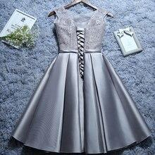 Short lace evening Dresses