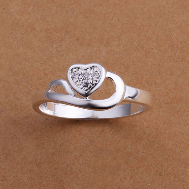 natural2015 hot sell wedding ring beautiful heart shaped weeding rings - Sell Wedding Ring