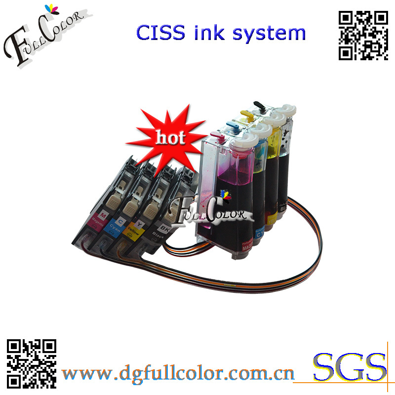 Free shipping Continuous Ink System LC101 LC103 CISS for MFC-J870DW Printer With ARC Chip & Inks 400ml free shipping compatible cli651 ciss full of inks for canon pixma mg5460 pixma ip7260 printer ciss with arc chip 5color set