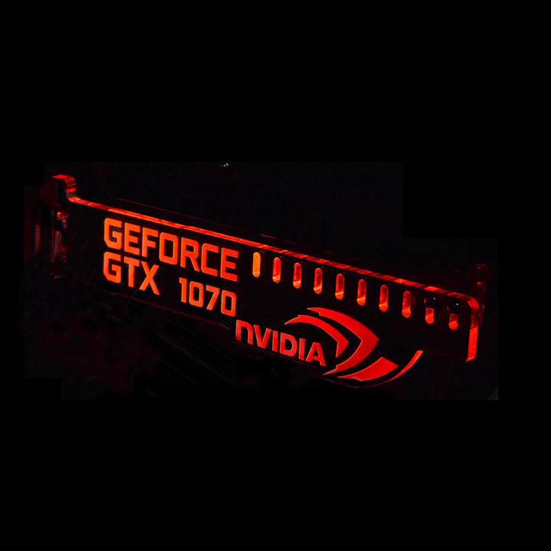 Red G8 Extended Version For GeForce GTX 1070 NVIDIA LED ...
