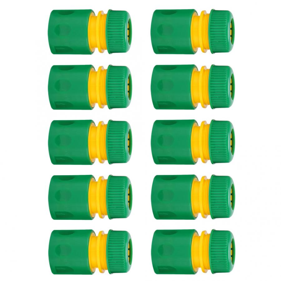 """10Pcs 1/2"""" Garden Tap Water Hose Pipe Quick Connectors Irrigations Thread Joint System Garden Accessories"""