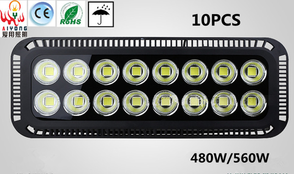 Environmental protection energy saving floodlight LED560W waterproof outdoor signboard lamp outdoor LED lamp door
