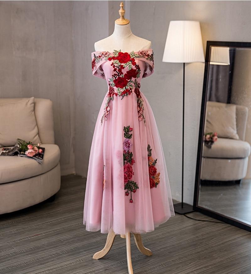 22107b73b16c403 Holievery с открытыми плечами Свадебные платья короткими рукавами ...