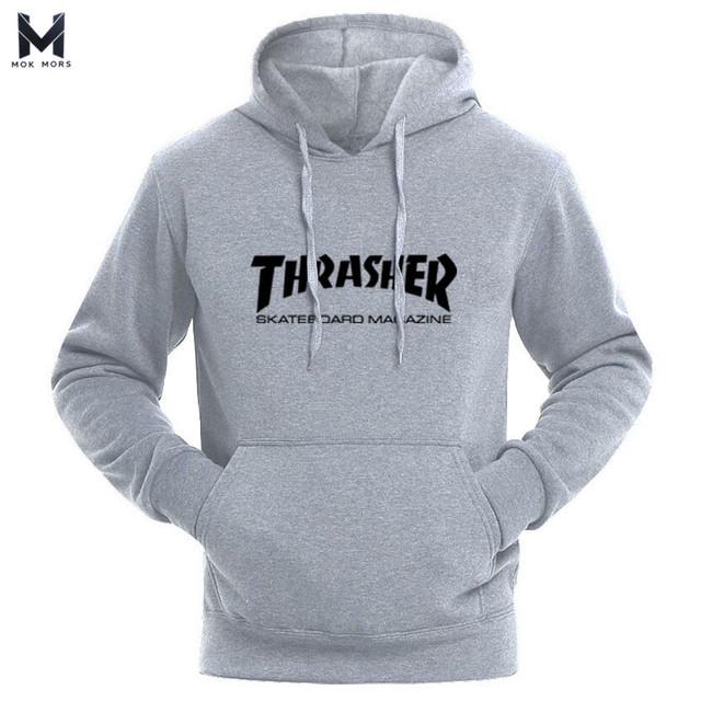 Hot Thrasher Sweatshirt Neue marke Herbst Young people Hip Hop pullover Hoodies Streetwear Trasher Herren und frauen Hoodies