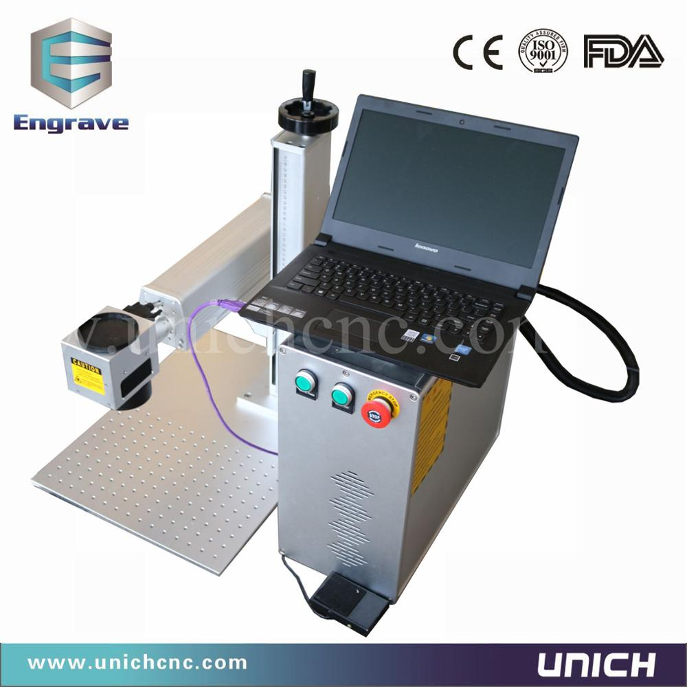 Sales Service Provided Small Mini Fiber Laser Marking Machine