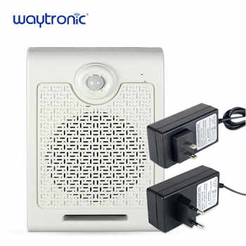 Human Body Motion Sensor Activated Audio Speaker Voice Broadcast Device for Construction Site Warehouse Workshop Safety Reminder - DISCOUNT ITEM  10% OFF All Category