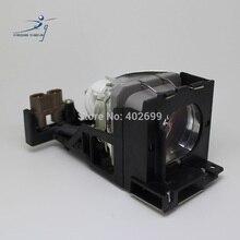 TLPLV3 projektör lamba ampulü Toshiba TLP S10 TLP S10U TLP S10D TLP S18 S10 S18 konut ile HS130AR10 9