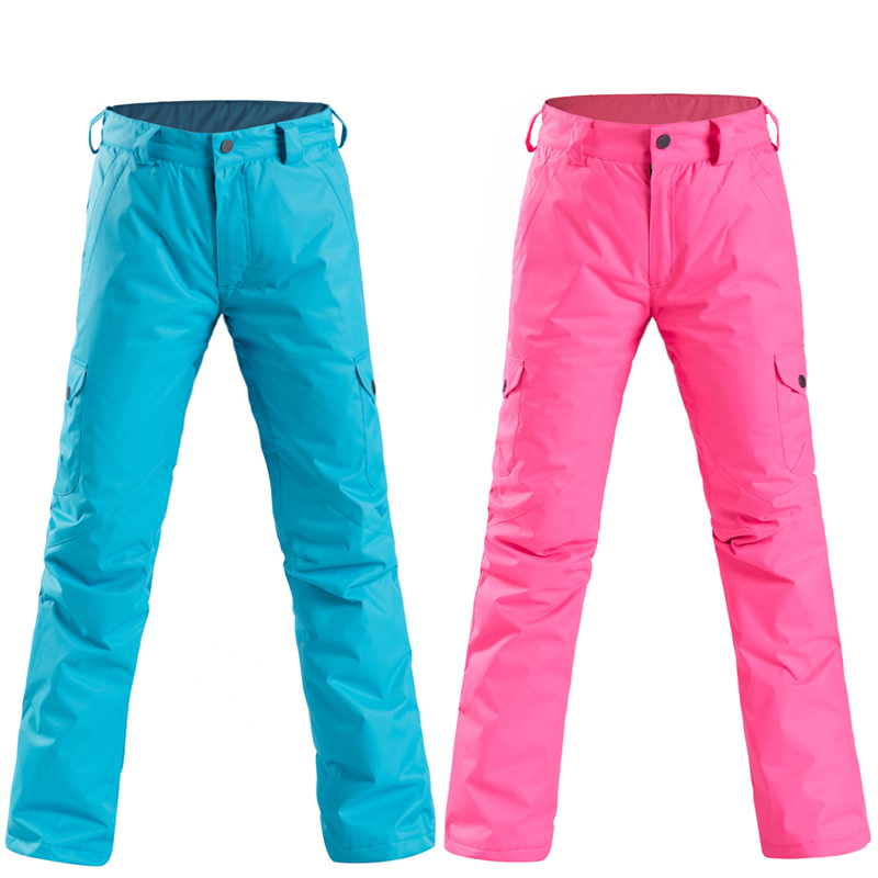 NEW Ski Pants Women's Professional Winter Snowboard Pants Outdoor Sports Pantalon Ski Female Hiking Ski Trousers Female