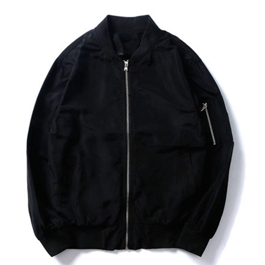 Black Bomber Jacket Men Army 2019 Summer Streetwear Japanese Bomber Jackets Men Military Jaqueta Masculina veste triumph 50J161