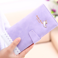 Dolphins Wallet For Women Wallets Carteira Feminina Card Purse Female Carteras Mujer Monederos Women's Money Bag Billeteras W1