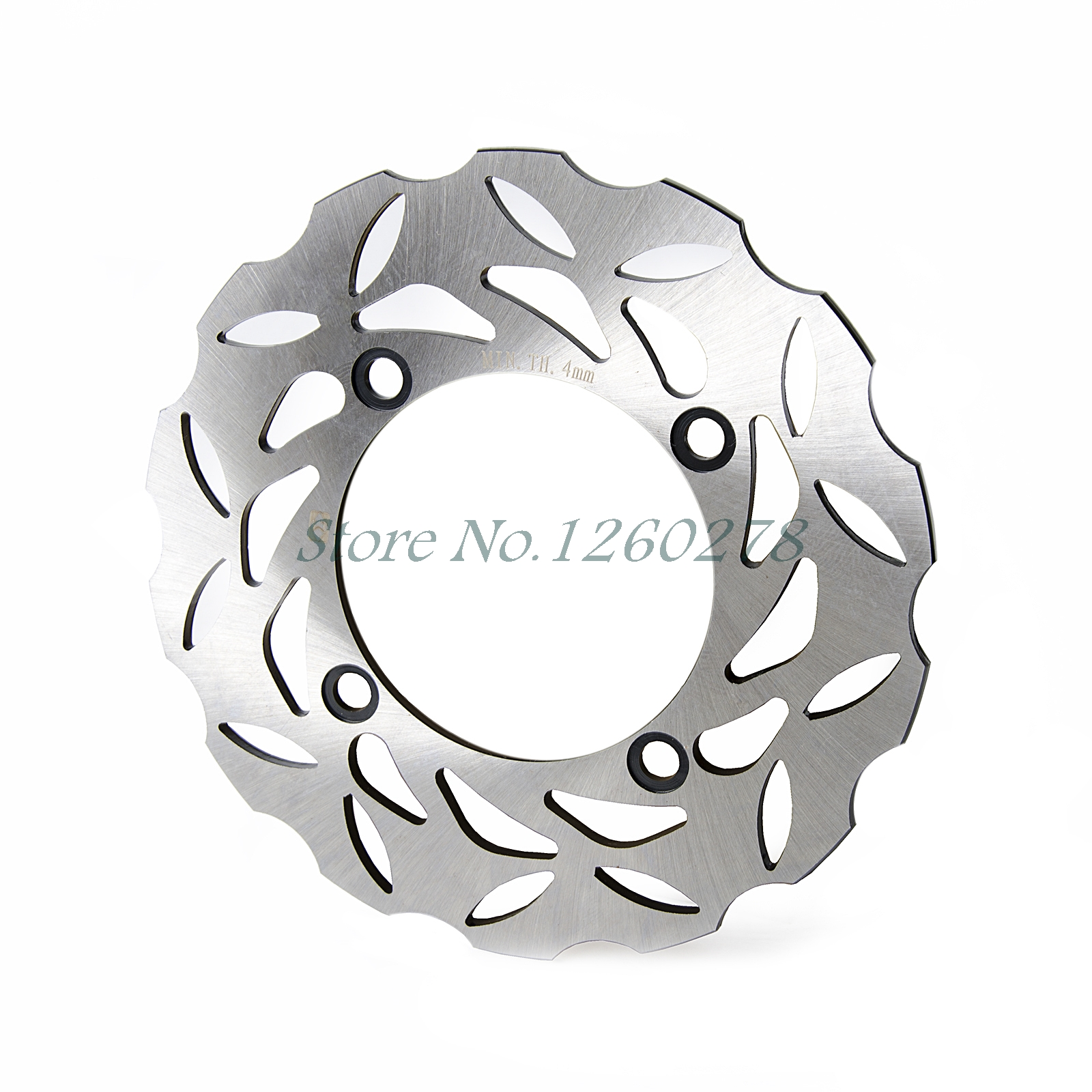 New Motorcycle Rear Brake Disc Rotor For Honda CB600F Hornet CBR600F CBR600RR CBR900RR CBR100RR CB250 VTR1000 XR650L NX650 new rear brake disc rotor racing street bike for motorcycle supermoto burgman 650 an650 2002 2003 free shipping
