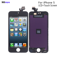 For iPhone 5 LCD Display Touch Screen Digitizer Replacement Parts For  iPhone 5 Display Screen LCD Phone Parts Free Tools