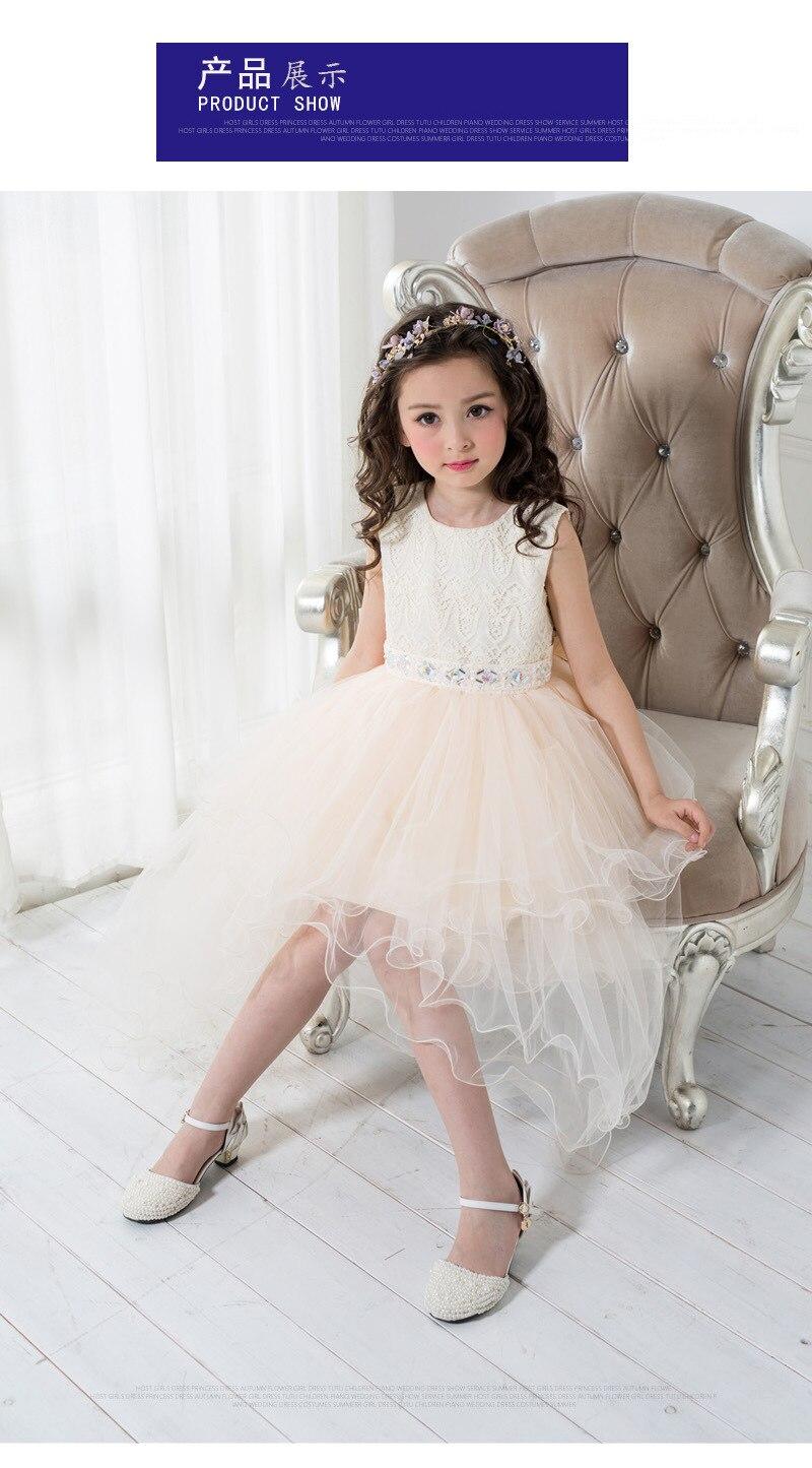 Summer Princess Girl Wedding Dress Party TuTu Clothes Kids Teenage ...