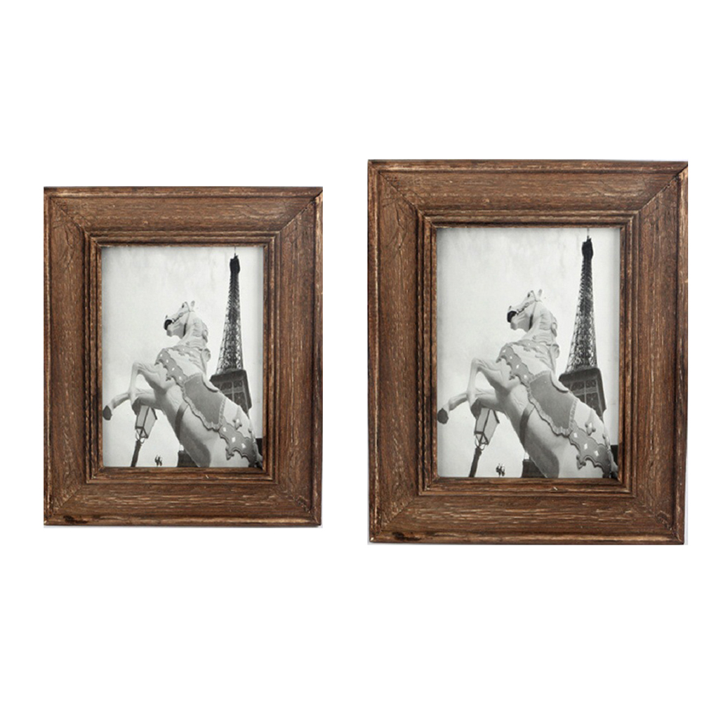Home Decor Western Style Wooden Photo Frame Studio 6/7 inch Photo ...
