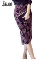 2018 New Bodycon Skirt Women Elegant Work Office High Waist Sexy Slim Skirt Floral Print Lady