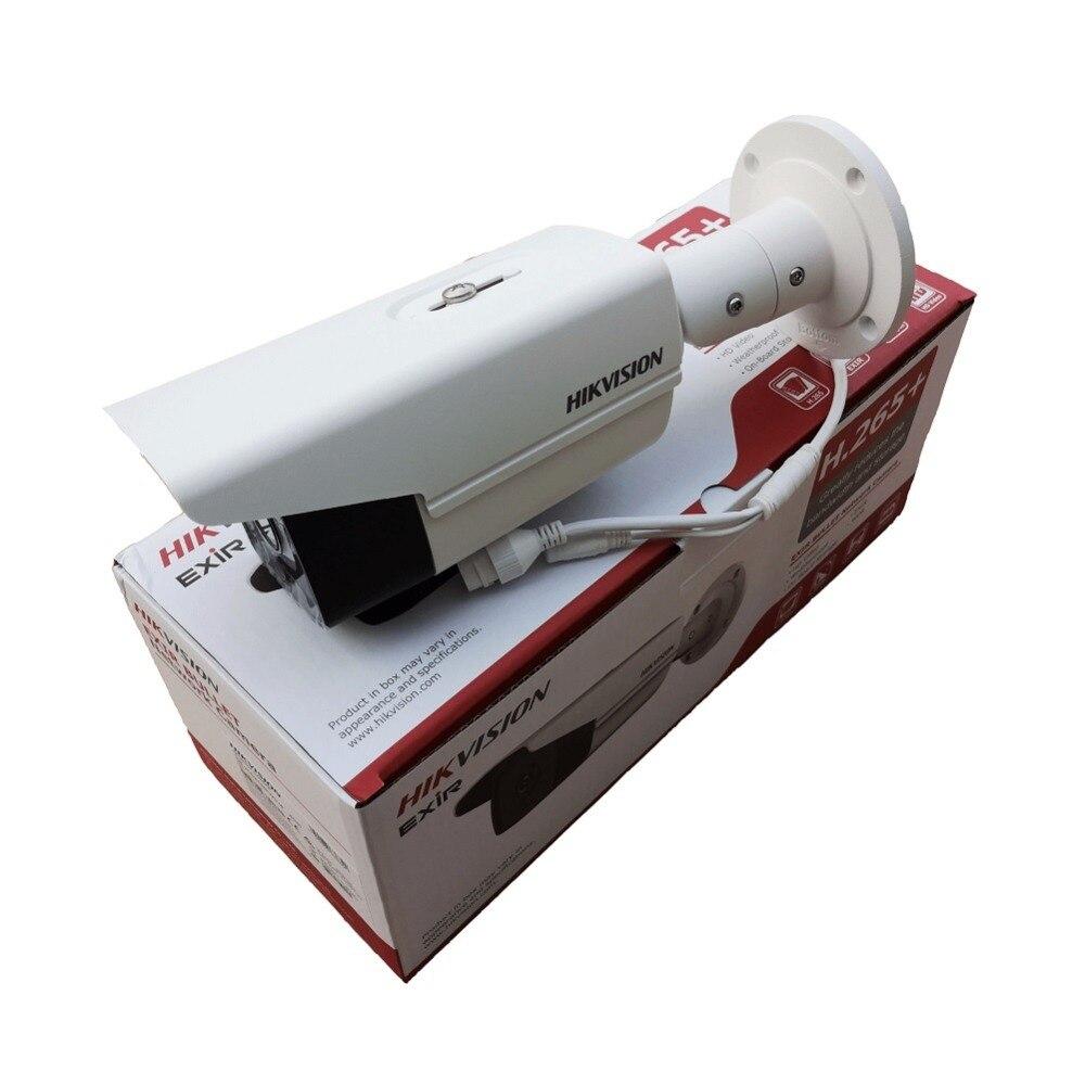 Original version Internationale 8 MP (4 k) DS-2CD2T85FWD-I8 Réseau Bullet Caméra H.265 CCTV Caméra avec Fente Pour Carte SD IP67