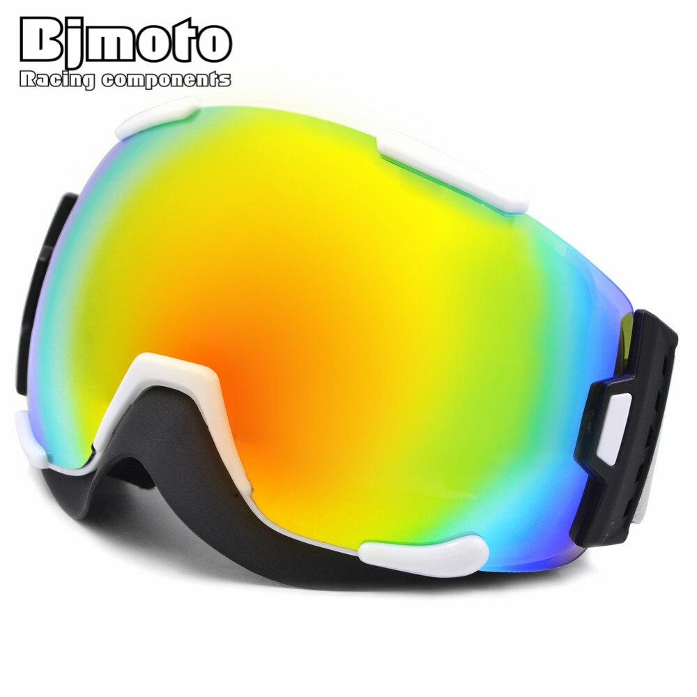 MG-023 2016 Новинка два объектива унисекс УФ-Защита Анти-туман снег лыжи лыжные очки сноуборд