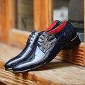 Zapatos puntiagudos bajas para ayudar a atar los zapatos de los hombres zapatos zapatos de moda de Corea del pelo estilista zapatos de negocios de Lujo clásico retro caro
