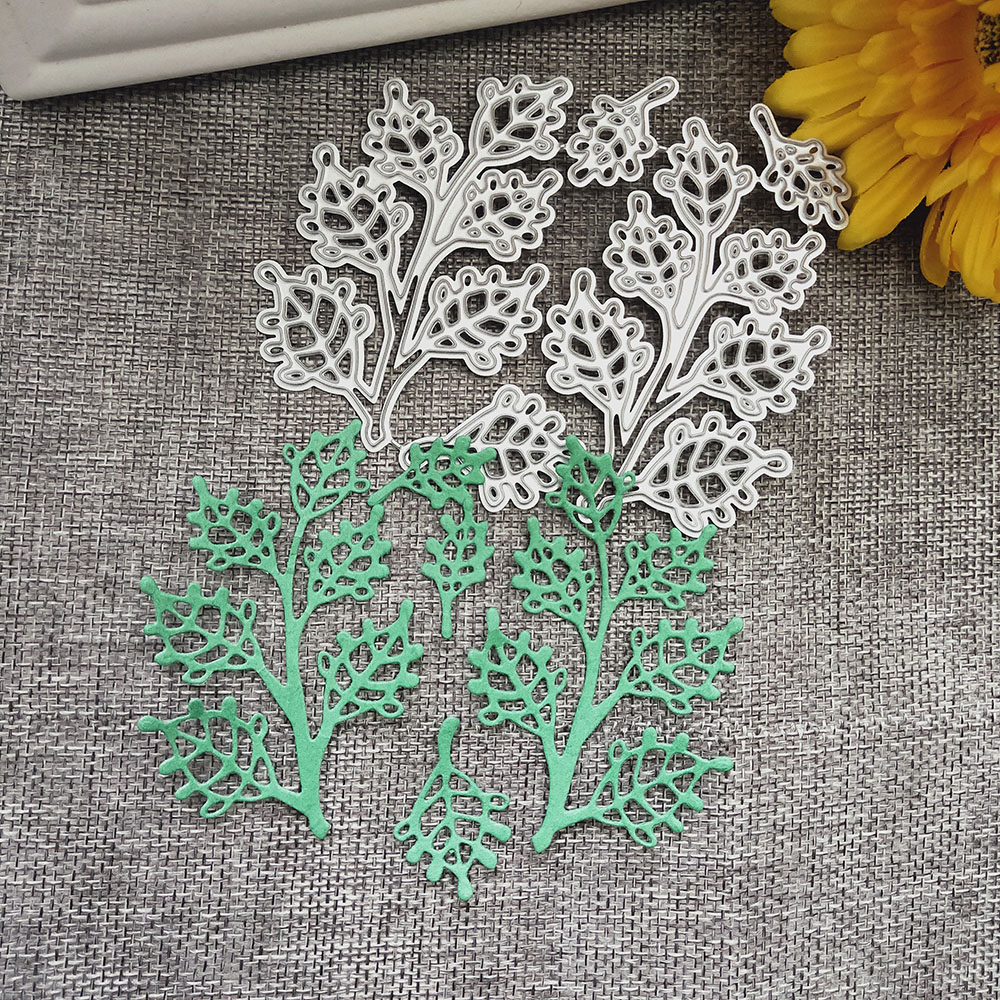 Metal Cutting Dies Marine Life Seaweed Punch Craft 3D Photo Frame Stencil