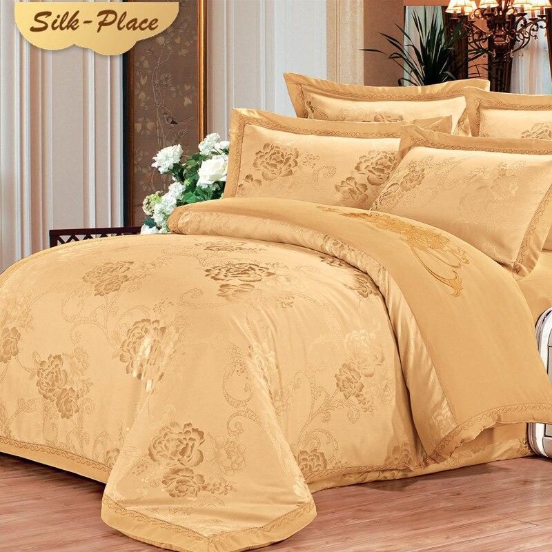 SVILA PLACE Posteljina Set Luksuzni Jacquard Saten Posteljina Euro - Tekstil za kućanstvo - Foto 5