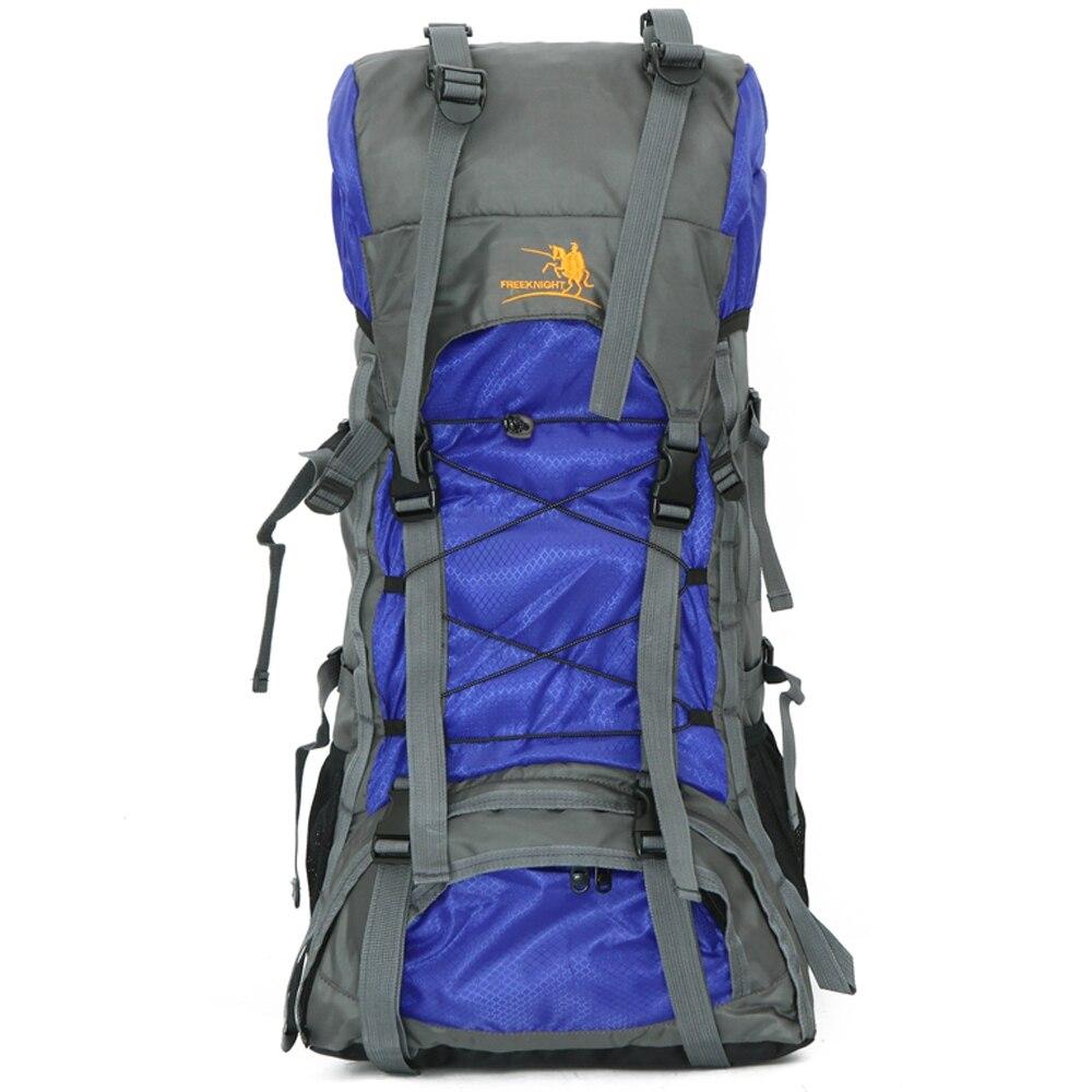Marca Unisex de Gran Capacidad Al Aire Libre 60L Mochila de Excursión Que Acampa