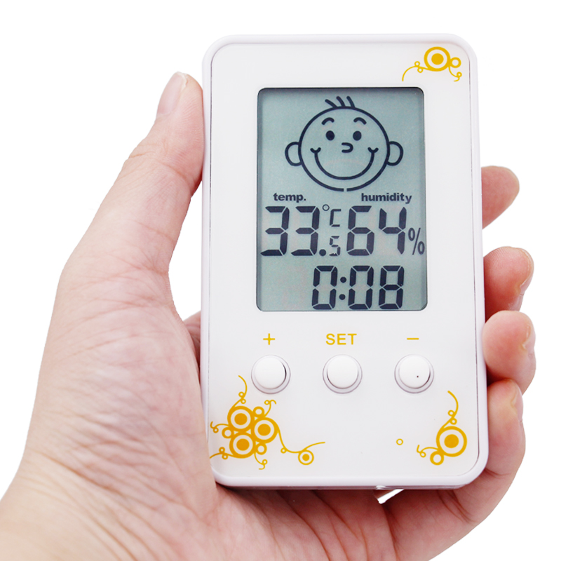 Digital LCD Thermometer Hygrometer Humidity Weather Station Tester Temperature Diagnosti ...