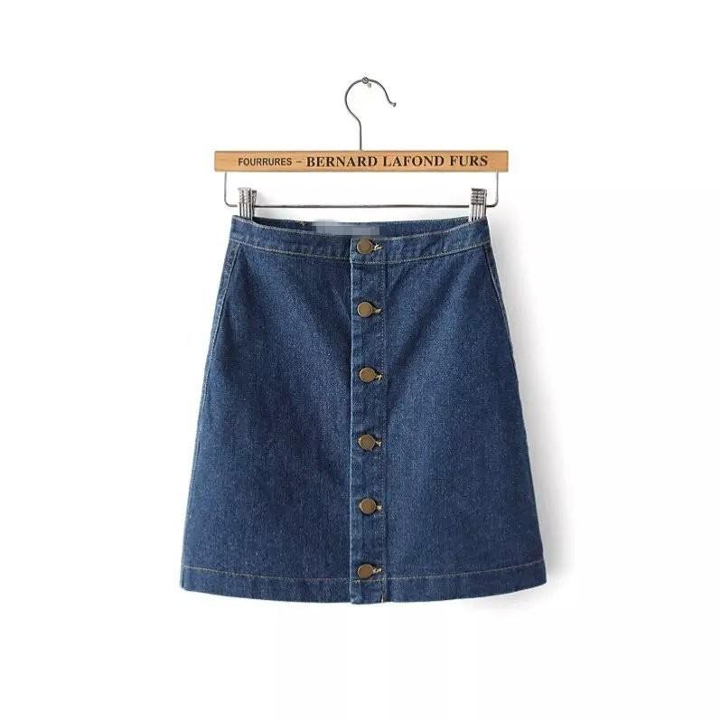HTB1V2qzKpXXXXcRXpXXq6xXFXXXd - Women Denim Skirt Jeans Short PTC 57