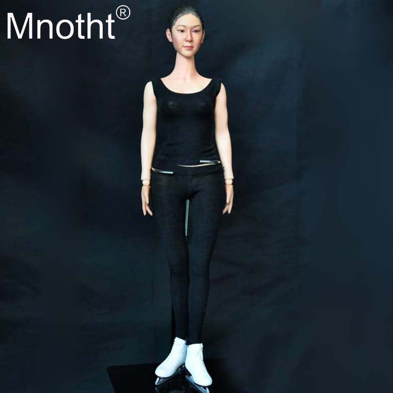 1/6 Scale Asian Super Star Kimyu na Action Figures Model toys KMF027 for 12in Female Soldier Hobbies Collections m3n