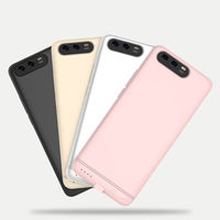 Luxury 6000mAh Thin Power Bank Case For Xiaomi Mi 5X / A1 External Battery Backup Charger Case Cover Metal Bumper