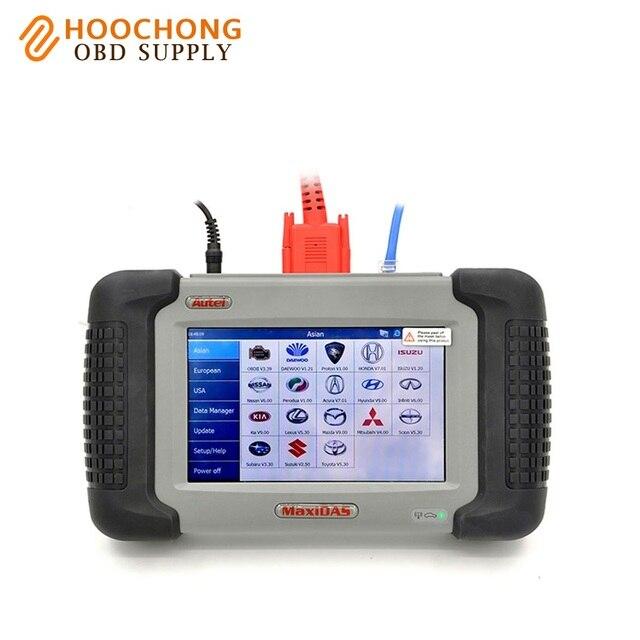 Autel MaxiDas DS708 Full set Diagnostic Tool OBD EOBD Scanner DS 708 Free Online Update