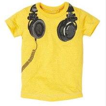 Brandwen Brand Hot Sale Summer Fashion Children T-shirt Boys T Shirts Printed Tops Tee Shirt Hight Quality Kids Clothing