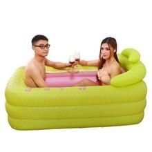 Bucket Springkussen Badkuip Basen Ogrodowy Gonfiabile Baby Banheira Adulto Inflavel Sauna Bath Hot Tub Inflatable Bathtub