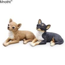 Mnotht 1/6 Mini Ji Wawa модель собаки украшение автомобиля полимерная сцена Аксессуар игрушка для экшн-фигурки подарок коллекция m5n