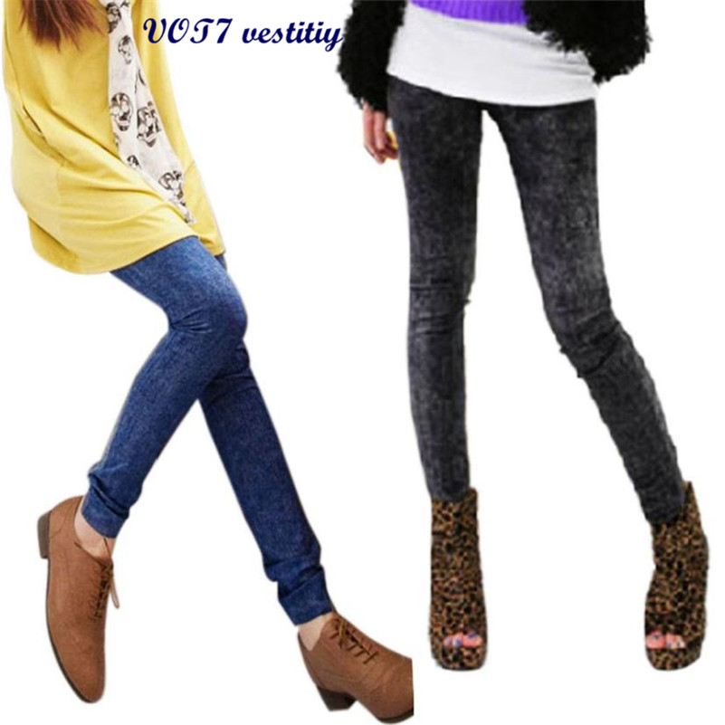 2019 Sexy Women Jeans Skinny Jeggings Stretchy Slim Skinny Pants Jeans Women Tights Trousers Pantalones Mujer