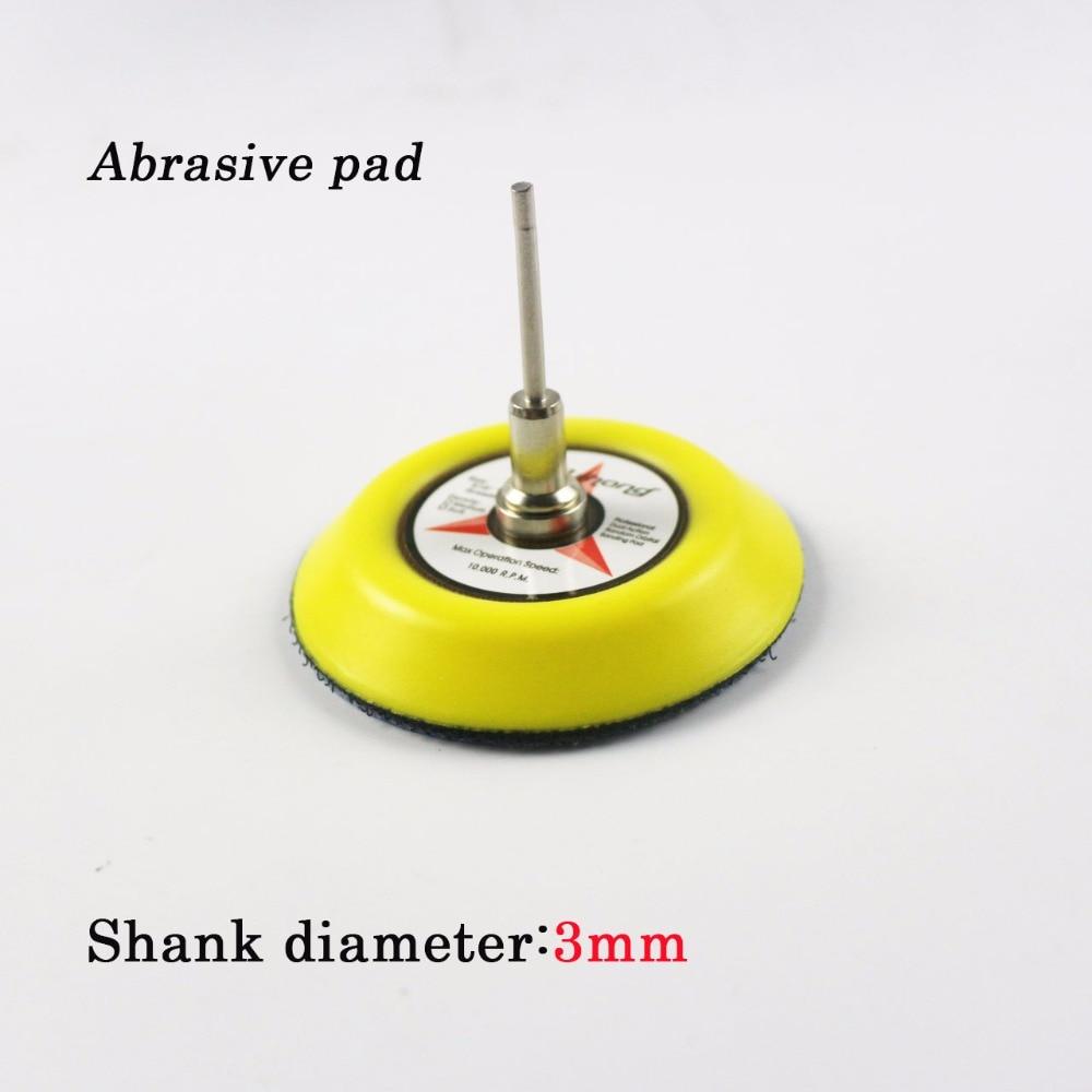 30 tk / partii 3 tolli valget kuiva liivapaberit 3 mm läbimõõduga - Abrasiivtööriistad - Foto 2