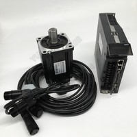 Cheap! 400W 0.4KW AC Servo Motor Drive Kits NEMA24 60mm 220V 3000r/min Modbus RS485 Replace Yaskawa Panasonic Fuji Delta for CNC