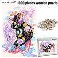 MOMEMO Лев и девочка для взрослых 1000 штук деревянная головоломка в китайском стиле цветная головоломка 1000 штук игрушки для взрослых