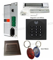 220 В tcp/ip телефон приложение Управление Системы комплект встроенный Питание с 125 кГц id card reader + 600lbs электромагнитный замок