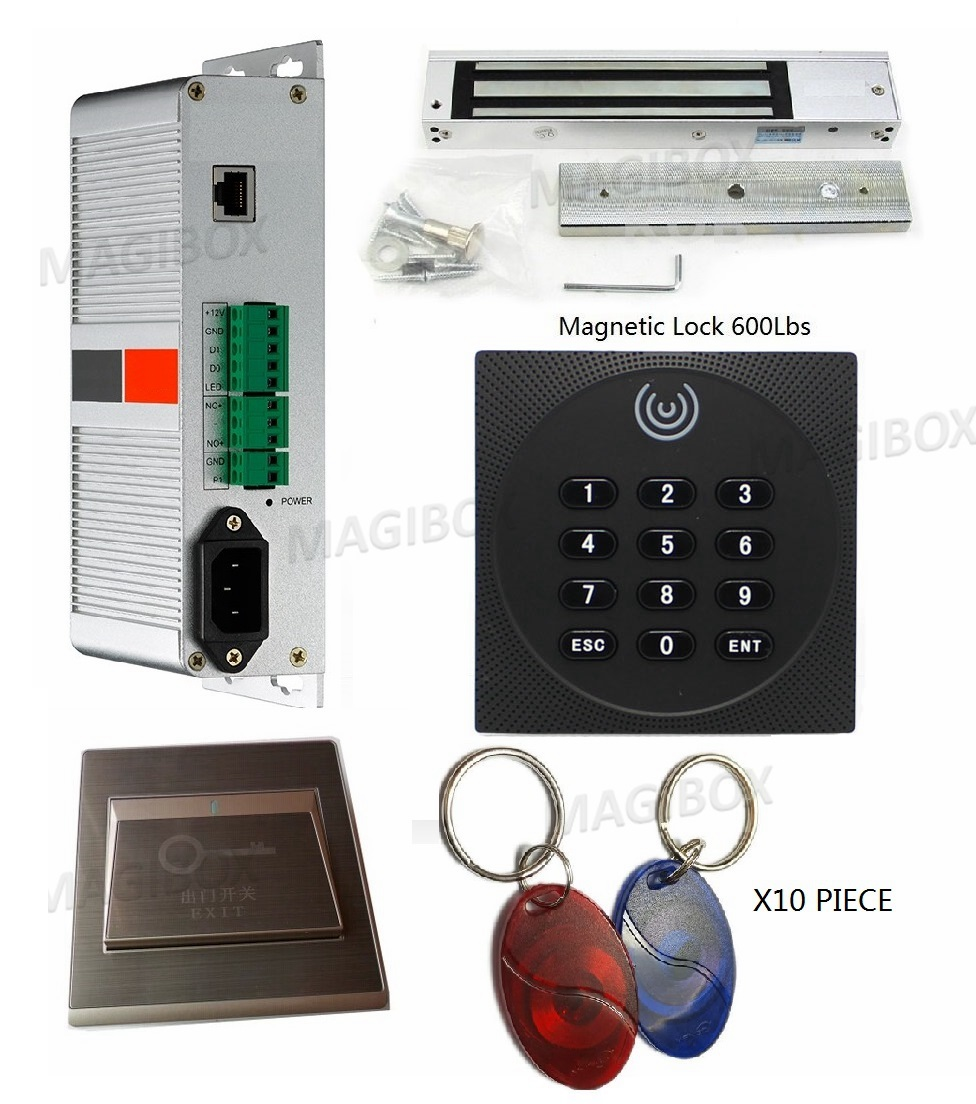 220V Tcp/Ip Phone App Control System Kit Built-in Power Supply With 125Khz ID Card Reader + 600Lbs Electromagnetic Lock avantika fadnis harmonics in power system