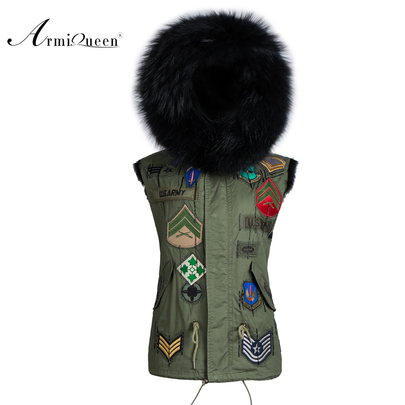New Design Faux Fur Vest Combine Knit black Fur Vest Waistcoat jacket for men