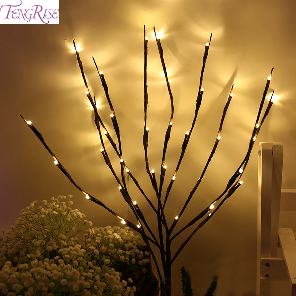 Fengrise Willow Branch Lamp 20 Led Light Strip Warm White