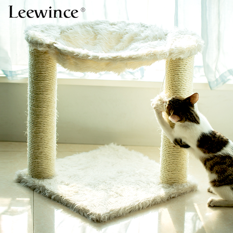 Leewince Cat Tree Furniture Scratching Pad Cat Scratch Toy Climbing Frame Pet Toys For Cats Cat Bed Scratching Posts House