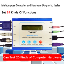 Multifunction Universal Desktop PC PCI PCI-E LPC Motherboard Diagnostic Test Analyzer Tester Computer Fault Diagnosis Instrument цена и фото