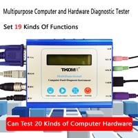 Multifunction Universal Desktop PC PCI PCI E LPC Motherboard Diagnostic Test Analyzer Tester Computer Fault Diagnosis Instrument