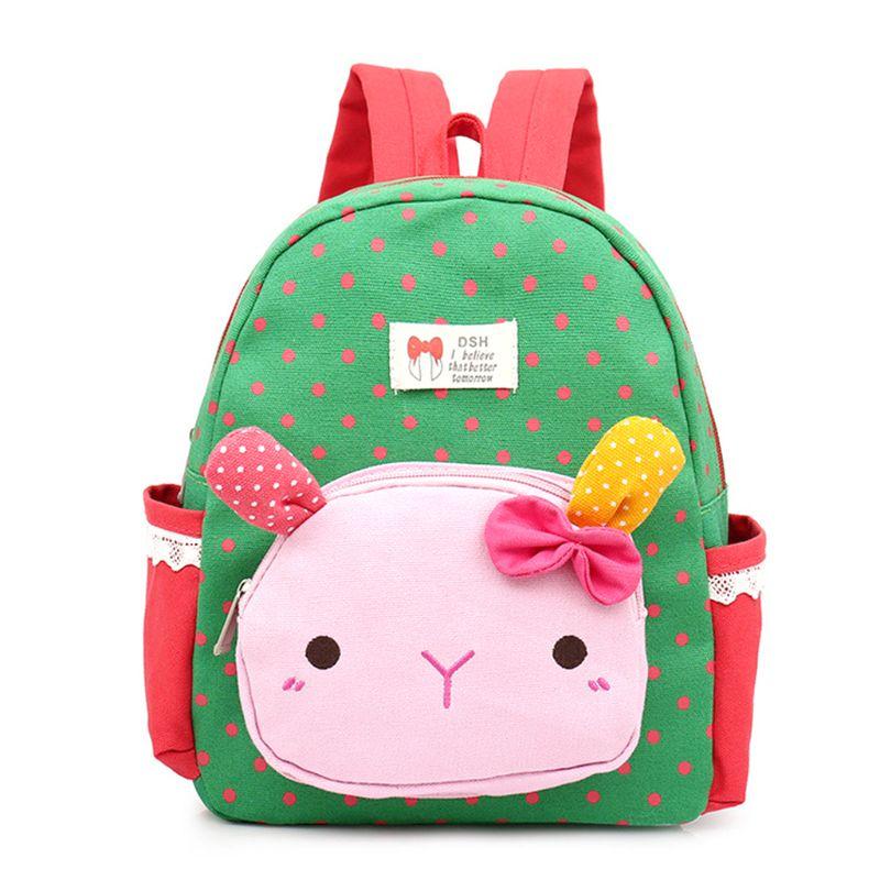 72bf9e2ad707 2019 новые милые рюкзаки для маленьких девочек с кроликом, детские школьные  сумки, детские сумки
