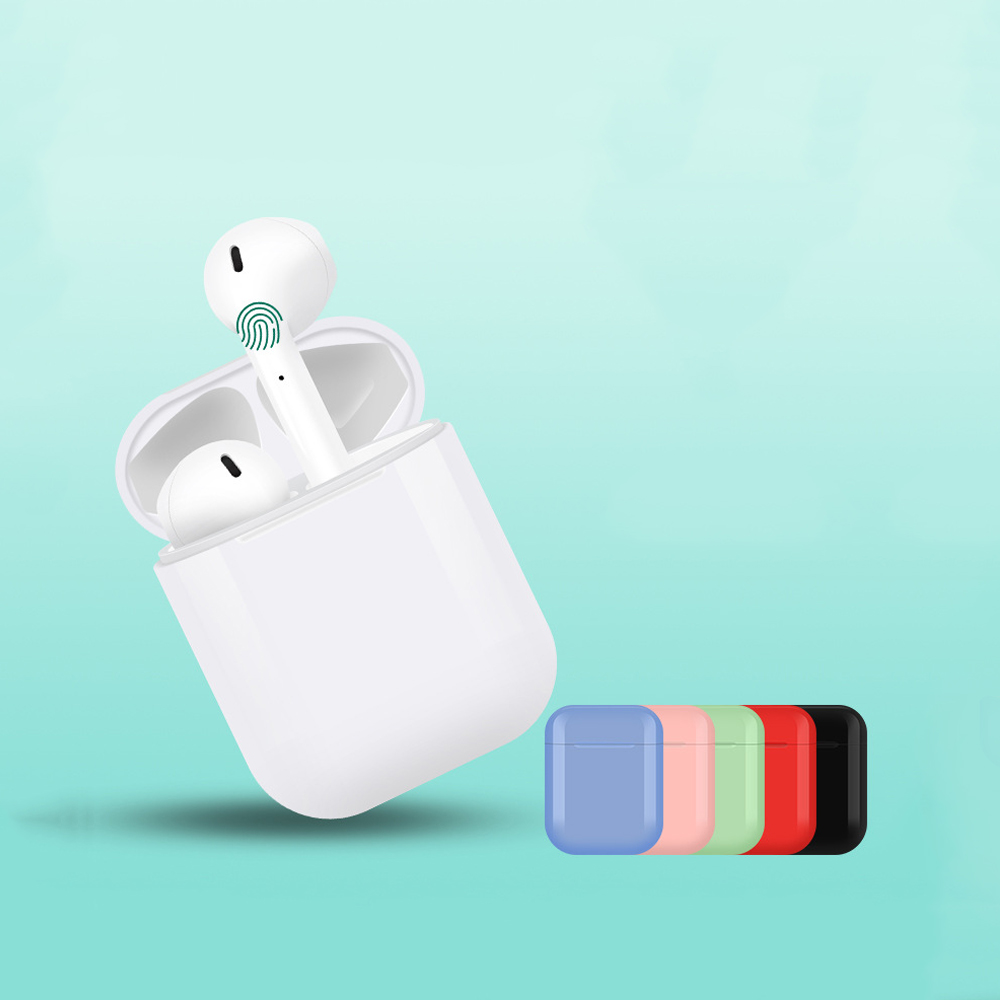 i10 tws i10 In Ear Touch Wireless Earphones Charge Support Earphones Wireless with Bluetooth Earphone 5 0 Earbuds Touch Earset in Bluetooth Earphones Headphones from Consumer Electronics