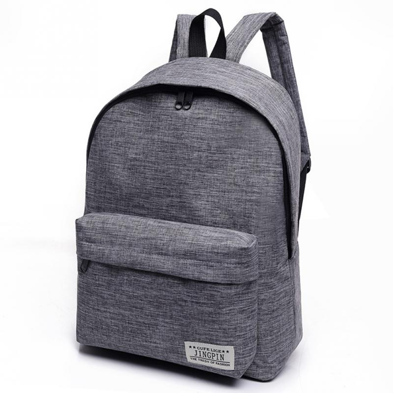 603f272e25d 2018 Men Male Canvas Backpack College Student School Backpack Bags for  Teenagers Vintage Mochila Casual Rucksack Travel Daypack-in Backpacks from  Luggage ...