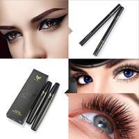 1PC Mascara With 3D Black Eyeliner Set Waterproof Black Brown Eyeliner Cometic Makeup Multi Function Kit
