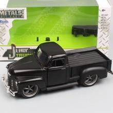 1:32 Масштаб Jada Классический Винтаж Chevrolet Silverado 1953 Chevy pick Up грузовики металлические Diecasts& игрушечные автомобили модели автомобилей